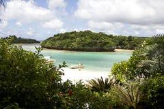 Strand av Ishigaki, Okinawa, Japan Royaltyfria Foton