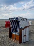 Strand av Juist Royaltyfri Bild