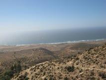 Strand av Marocko, Essaouira Royaltyfria Foton