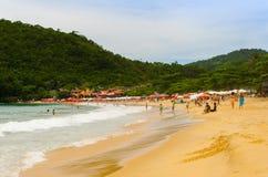 Strand av Paraty Fotografering för Bildbyråer