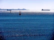 Strand av rotaen i Cadiz Arkivfoton