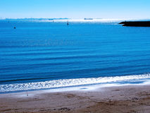Strand av rotaen i Cadiz Arkivbilder