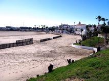 Strand av rotaen i Cadiz Royaltyfri Fotografi