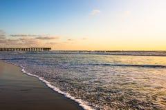 Strand av San Diego Kalifornien härligt dimensionellt diagram illustration södra tre för 3d Amerika mycket Royaltyfri Foto
