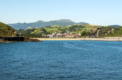 Strand av San Sebastian Arkivfoto