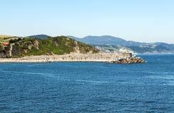 Strand av San Sebastian Royaltyfria Bilder