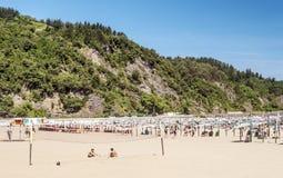 Strand av San Sebastian Royaltyfri Bild