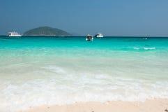 Strand av Similan öar Royaltyfri Bild