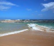 Strand av Stilla havet Arkivbilder