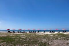 Strand av sydliga Thailand Royaltyfria Bilder