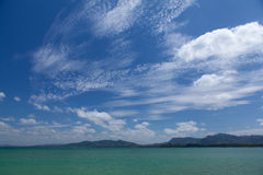 Strand av sydliga Thailand Royaltyfria Foton