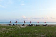 Strand av sydliga Thailand Arkivbilder