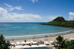 Strand av taiwan Arkivbild