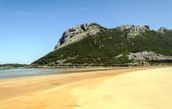Strand av vizcaya Royaltyfria Bilder