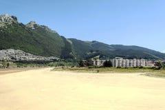 Strand av vizcaya Arkivbilder