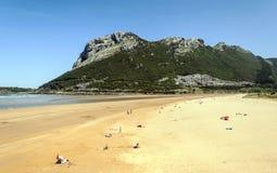 Strand av vizcaya Royaltyfri Bild