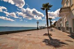 Strand av Yalta Royaltyfri Bild