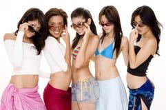 Strand Babes #3 Royalty-vrije Stock Foto's