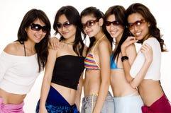 Strand Babes #9 stock foto's