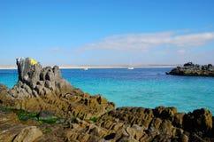 Strand Bahia Inglesa royalty-vrije stock afbeeldingen