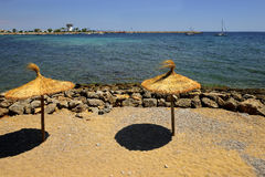Strand beach resort of Palma Nova, Majorca. Royalty Free Stock Image