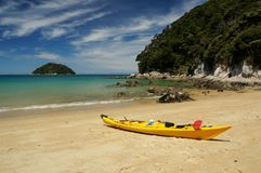 Strand bei Abel Tasman National Park in Neuseeland Stockfoto