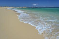 Strand bei Corralejo, Fuerteventura-Insel lizenzfreies stockfoto