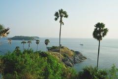 Strand bei Laem Promthep Phuket Lizenzfreies Stockbild