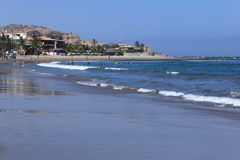 Strand bei Mancora, Peru Stockfotos