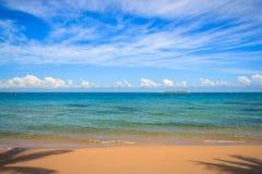Strand bei Neu-Kaledonien Stockfotografie