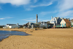 Strand bei Provincetown, Cape Cod, Massachusetts Stockbild