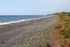 Strand bei Silecroft Stockbild
