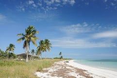 Strand bij de Sleutel van Bahia Honda royalty-vrije stock foto