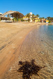 Strand bij Gr Gouna Egypte Stock Foto
