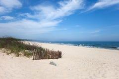 Strand bij Oostzee in Wladyslawowo Stock Afbeeldingen