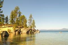 Strand bij Zandhaven in Meer Tahoe royalty-vrije stock afbeeldingen
