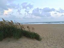 Strand bij Zonsopgang Stock Afbeelding