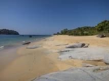 Strand in Birma Stock Afbeelding
