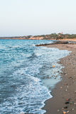 Strand blått hav Arkivfoto