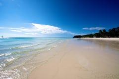 Strand in Boracay Stockfotografie
