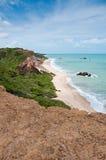 strand brazil Royaltyfria Foton