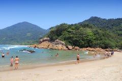 Strand in Brazilië Stock Afbeeldingen