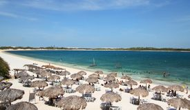 Strand in Brazilië Royalty-vrije Stock Foto's