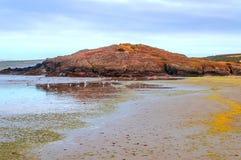 Strand in Bretagne Lizenzfreies Stockfoto