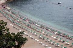 Strand in Budva, Montenegro Stockfoto