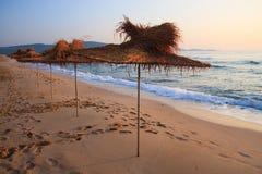 Strand in Bulgarije Royalty-vrije Stock Afbeelding