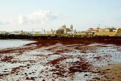 Strand in Cadiz Royalty-vrije Stock Fotografie