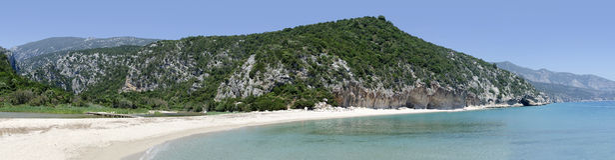 Strand Calas Luna, Sardinien Stockbilder