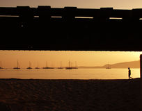 strand calvi Royaltyfri Foto