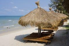 strand cambodia royaltyfri foto